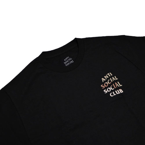 a2c27a490486 ANTI SOCIAL SOCIAL CLUB Storm Black Tee
