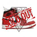 AIR JORDAN 1 HIGH THE RETURN  VARSITY RED